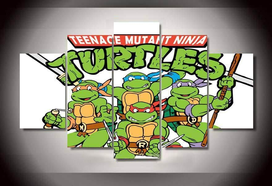 Online Get Cheap Tmnt Wall Art  Aliexpress | Alibaba Group Regarding Tmnt Wall Art (Image 11 of 20)