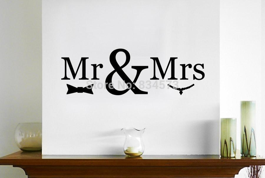 Online Get Cheap Wall Art Mr And Mrs  Aliexpress | Alibaba Group Regarding Mr And Mrs Wall Art (Image 14 of 20)