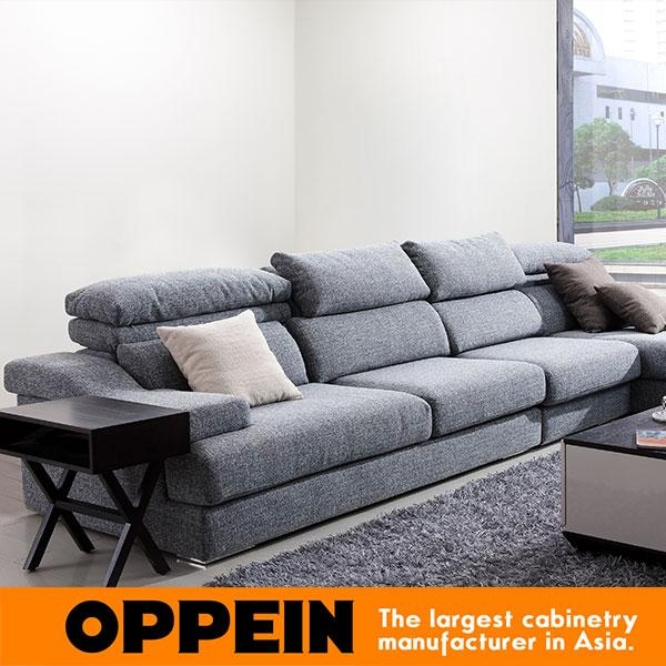 Online Shop Modern Fabric Sectional Sofa With Corner Minimalist Pertaining To Simple Sofas (View 17 of 20)