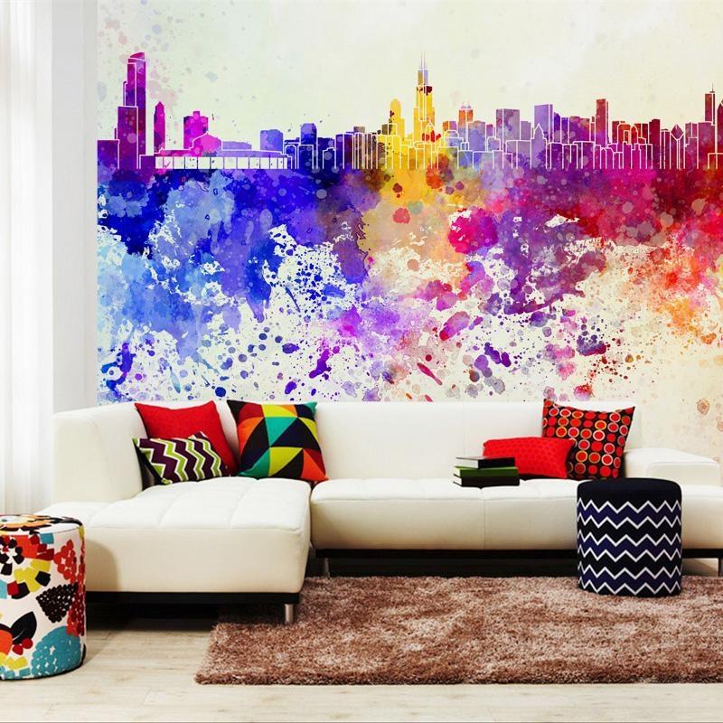 Online Shop Photo Wallpaper Abstract Art Wall Mural Non Woven With Abstract Art Wall Murals (View 7 of 20)