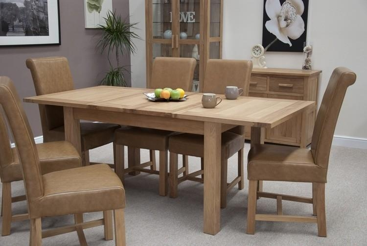 Opus Oak Furniture Extending Dining Table | Furniture4Yourhome With Regard To Most Recent Dining Extending Tables And Chairs (Image 17 of 20)
