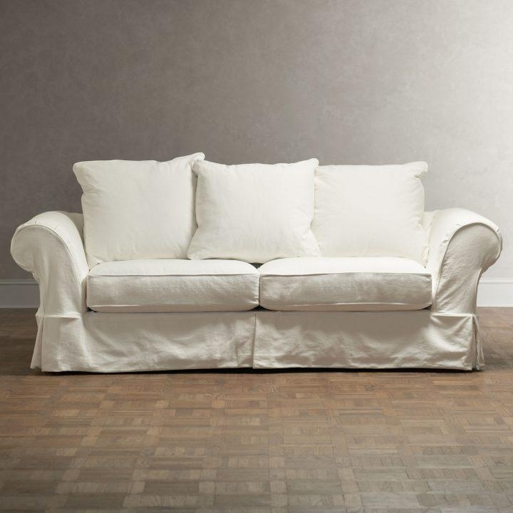 Ottoman : Mesmerizing Sofa Slipcovers, Ottoman Slipcovers Intended For Rowe Slipcovers (Image 6 of 20)