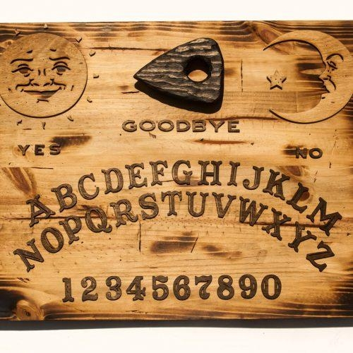 Ouija Board Archives – Chris Knight Creations Intended For Ouija Board Wall Art (Image 7 of 20)