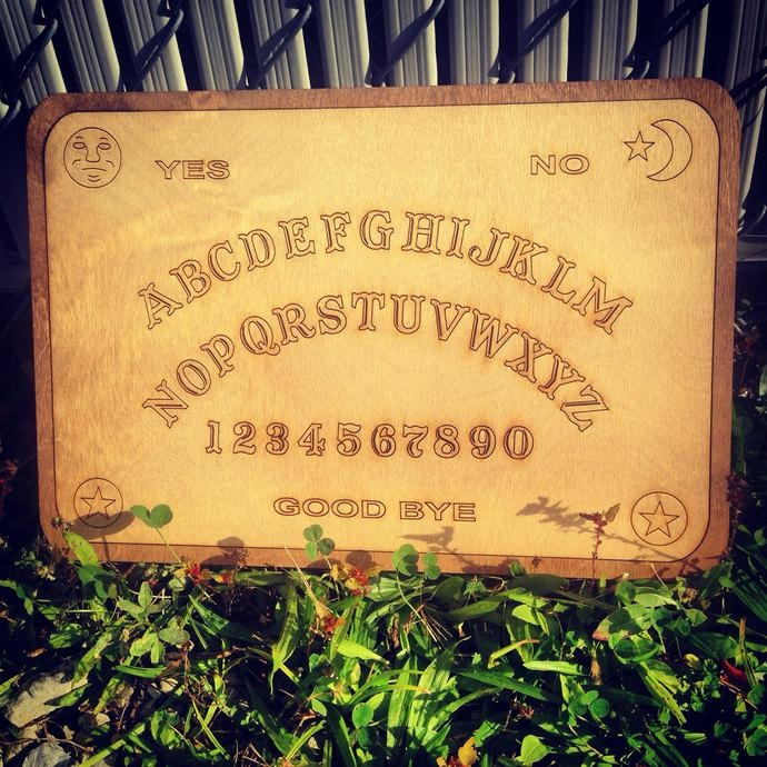 Ouija Board Wall Art And Talking Boardwoodwearbyandrea On Zibbet Inside Ouija Board Wall Art (View 18 of 20)