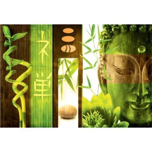 Outdoor Canvas Wall Art – Green Buddha : Buy Outdoor Canvas Wall For Buddha Outdoor Wall Art (Image 11 of 20)