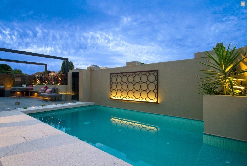 Outdoor Steel Metal Art | Eva Furniture Pertaining To Tropical Outdoor Wall Art (View 4 of 20)