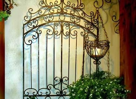 Outdoor Wrought Iron Wall Art Tuscan Garden Gate – Blog Stodiefor Throughout Outdoor Wrought Iron Wall Art (Image 12 of 20)
