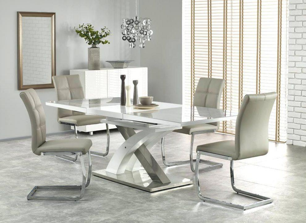Oval And Round High Gloss Dining Table Sets White Gloss Dining In White Gloss Dining Tables 120Cm (Image 17 of 20)