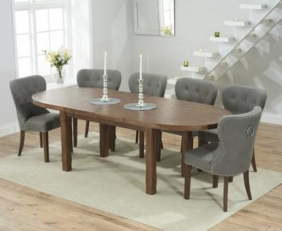 Oval Dining Sets | Oval Dining Table & Chair Sets In Oak & Glass Inside Current Oval Extending Dining Tables And Chairs (Image 14 of 20)