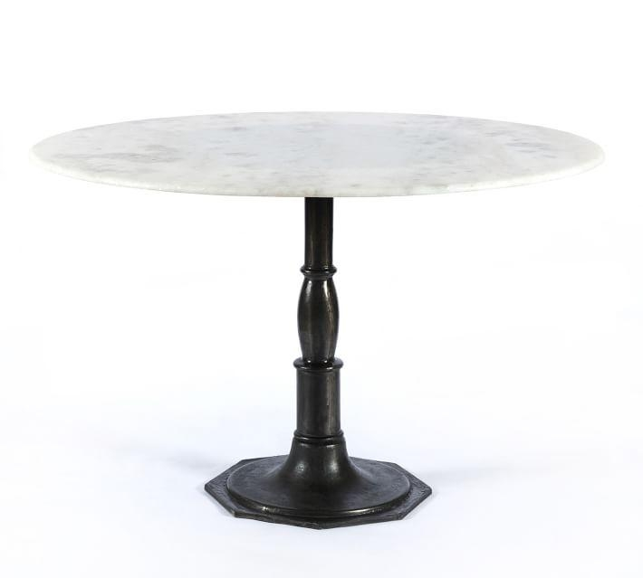 Oval & Round Dining Tables | Pottery Barn Intended For Recent Round Dining Tables (Image 15 of 20)