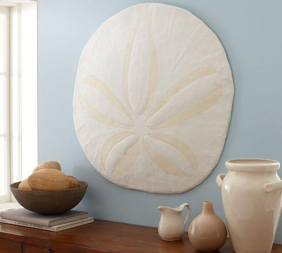 Over Sized Sand Dollar | Pottery Barn Within Sand Dollar Wall Art (Image 12 of 20)