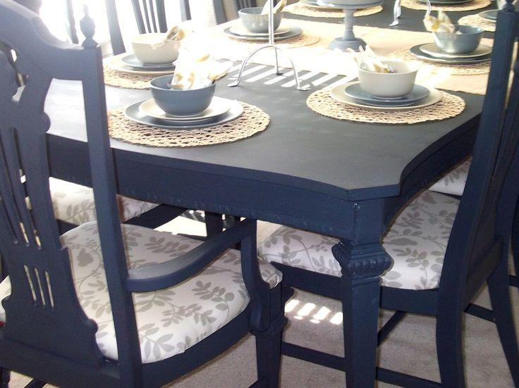 Painted Dining Room Tables | Good Furniture Throughout Most Popular Painted Dining Tables (Image 18 of 20)