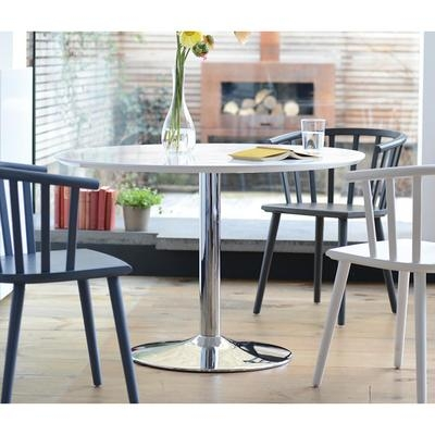 Palermo Gloss Dining Table Large White – Dwell Within Current Large White Gloss Dining Tables (Image 14 of 20)