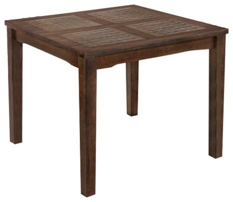 "Palma 4""x4"" Square Dining Table, Brown – Contemporary – Dining Inside Most Up To Date Milton Dining Tables (Image 15 of 20)"