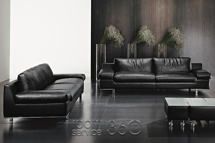 Parana Modern Leather Sofa Set – Designer Italian Leather Sofa Set Within Italian Leather Sofas (View 10 of 20)