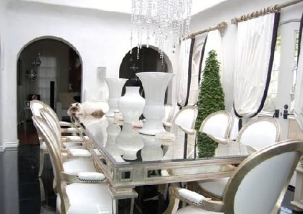 Paris Hilton's Pad (For Rent) – Dining Room (6) – Cnnmoney Pertaining To Latest Paris Dining Tables (View 9 of 20)