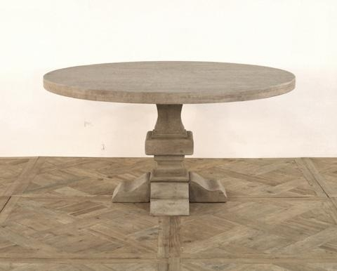 Paris Round Dining Table In Pine | Tr43 | Gj Styles Tables From With Regard To Current Paris Dining Tables (Image 17 of 20)