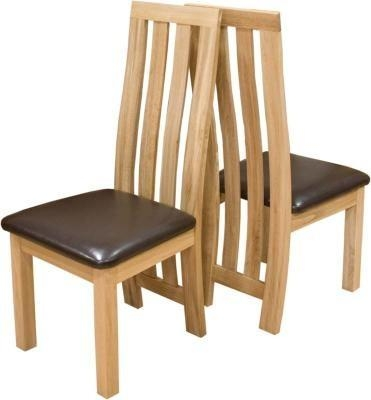 Paris Solid Oak Dining Chair – Oak Furniturehouse Of Oak With Regard To Most Current Oak Dining Chairs (View 2 of 20)