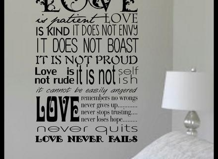 Patient Wall Art Love – Blogstodiefor Intended For Love Is Patient Love Is Kind Wall Art (Image 17 of 20)