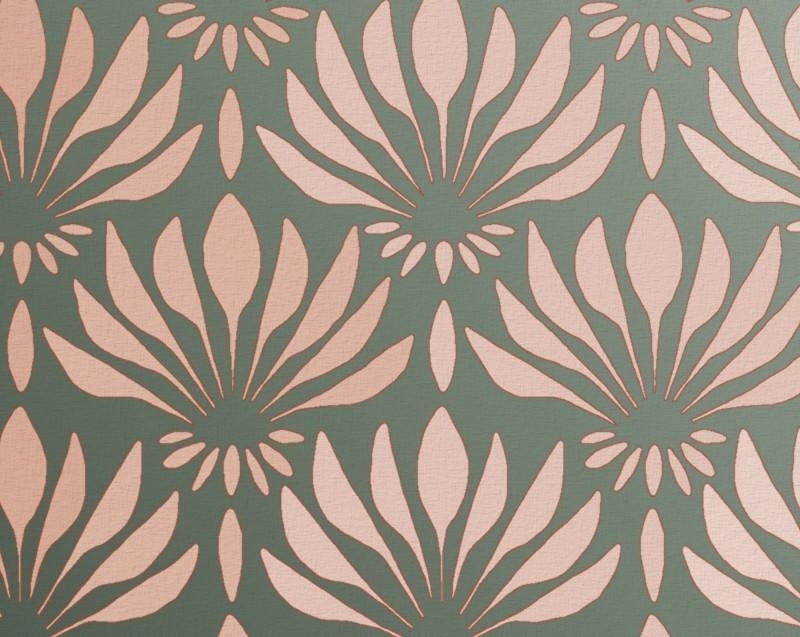 Pattern Stencil For Walls Art Deco Pattern Fan Within Pattern Wall Art (View 8 of 20)