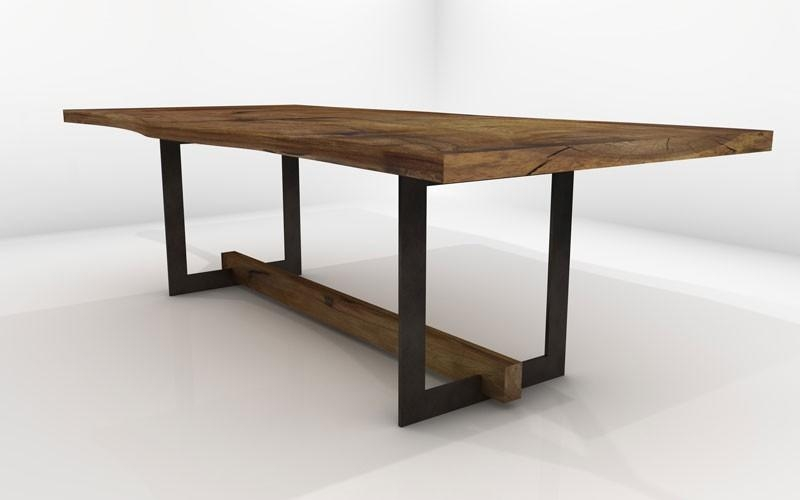 Pavo Dining Table – Sustainable Solid Wood Dining Room Furniture Throughout Most Recent Solid Wood Dining Tables (View 10 of 20)