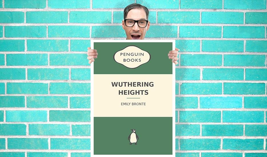 Penguin Books Wuthering Heights Art Pint – Wall Art Print Poster Pertaining To Penguin Books Wall Art (Image 18 of 20)