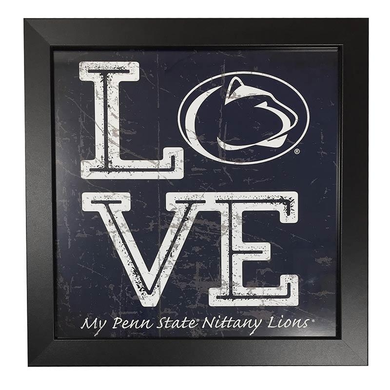 Penn State Prints & Wall Art – Nittany Lions Gifts Throughout Penn State Wall Art (View 12 of 20)