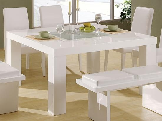 Perfect Dining Table White With Dining Table White Throughout Most Current White Dining Tables (View 17 of 20)