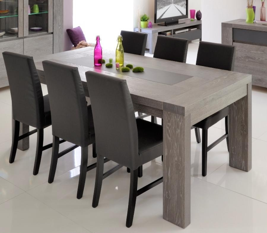 Perfect Gray Wood Dining Table With Prettiest Grey Wood Dining In Most Popular Grey Dining Tables (Image 17 of 20)
