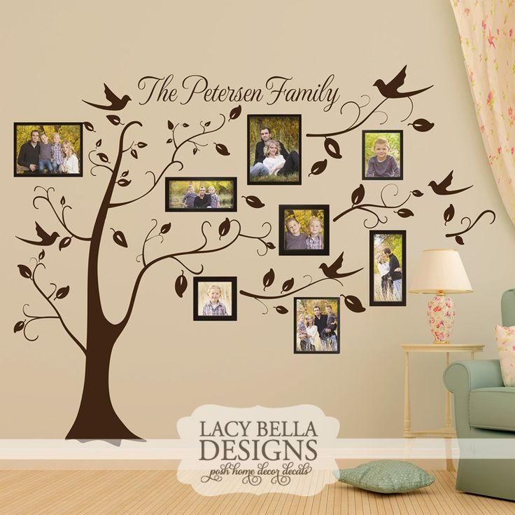 "Personalized Family Picture Tree"" Www (Image 19 of 20)"