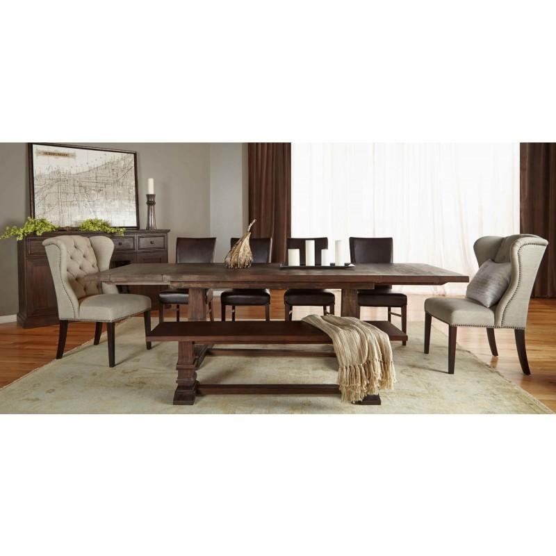 Peter Andrews Furniture And Gifts Hudson Extension Dining Table Within Most Current Java Dining Tables (Image 19 of 20)