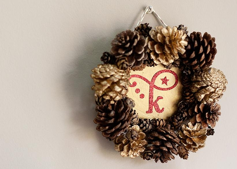 Pine Cone Frame {Diy} – Circus Berry With Pine Cone Wall Art (Image 13 of 20)