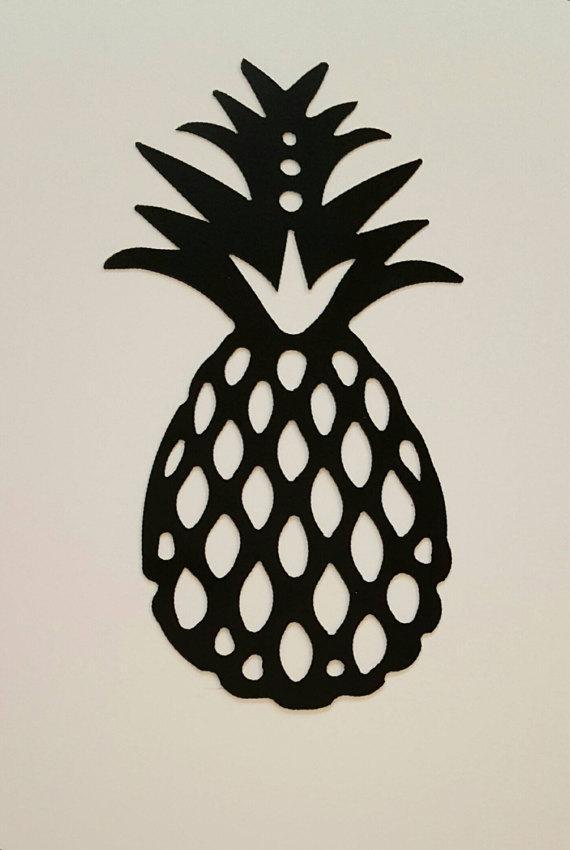 Pineapple Decor/pineapple Metal Wall Art/island Decor/metal In Pineapple Metal Wall Art (Image 14 of 20)