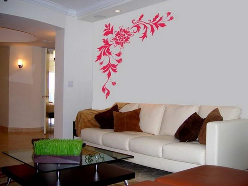 Pink Art For Living Room Walls Interior Wall Paintings (Image 14 of 20)