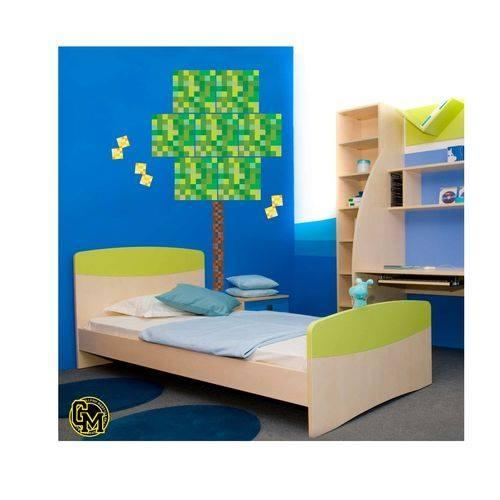 Pixel Block Wall Decals – Pixel Tree Not Minecraft (View 15 of 20)