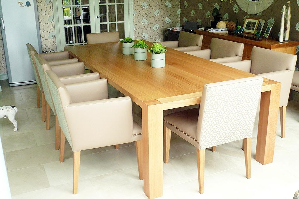 Plain Decoration Oak Dining Tables Beautiful Design Ideas Dining With Regard To Current Solid Oak Dining Tables (View 4 of 20)