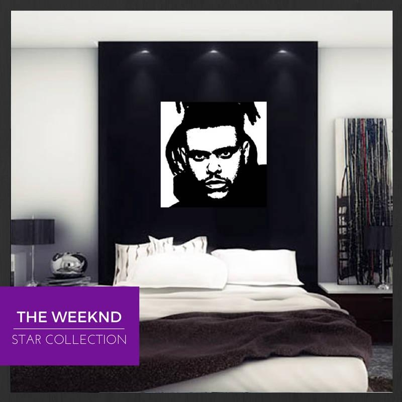 Pop Art Painting The Weeknd With The Weeknd Wall Art (Image 11 of 20)