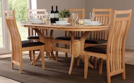 Popular Dining Room Tables Extendable Dining Table As Oval Throughout Recent Oval Extending Dining Tables And Chairs (Image 17 of 20)