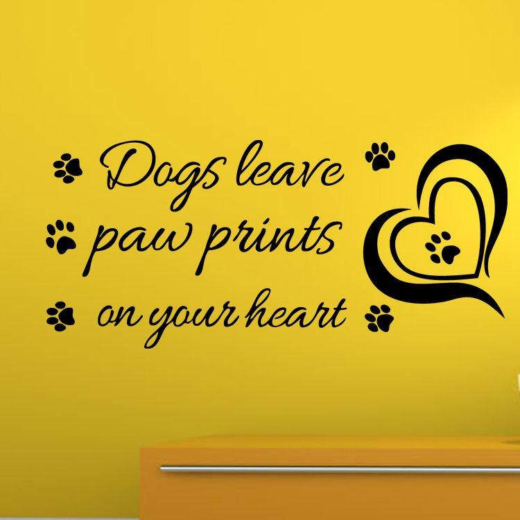 Popular Dog Sayings Wall Art Buy Cheap Dog Sayings Wall Art Lots Within Dog Sayings Wall Art (View 14 of 20)