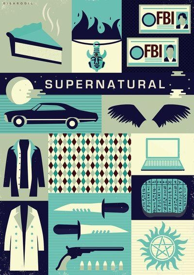 Popular Poster Supernatural Buy Cheap Poster Supernatural Lots For Supernatural Wall Art (Image 8 of 20)