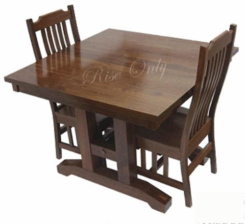Portable Indian Sheesham Wooden Folding Dining Table Set With 2 Within Most Up To Date Indian Dining Tables (Image 18 of 20)