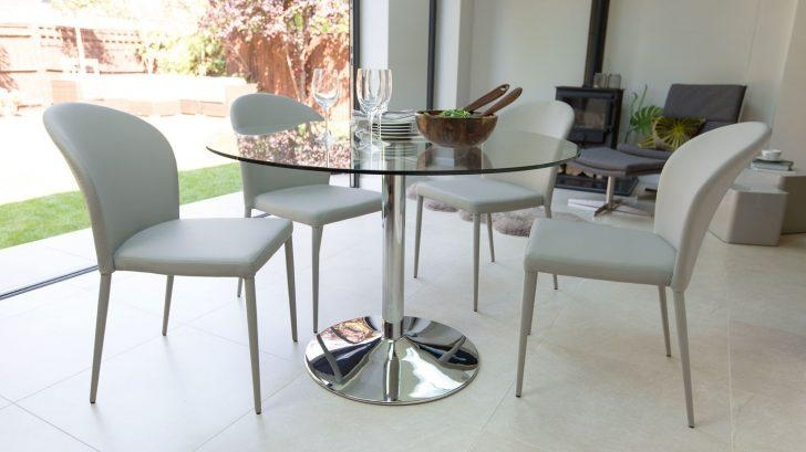 Pretty Seater Glass Dining Table Sets Astonishing With Agreeable Throughout 2018 Small 4 Seater Dining Tables (View 16 of 20)