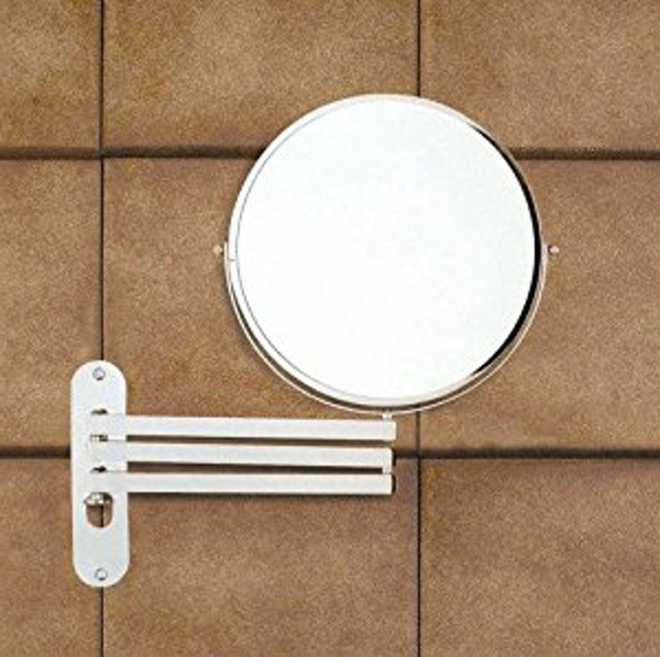 Product Extension Mirrors Wall Mounted Vanity With Long Arms With Bathroom Extension Mirrors (Image 20 of 20)
