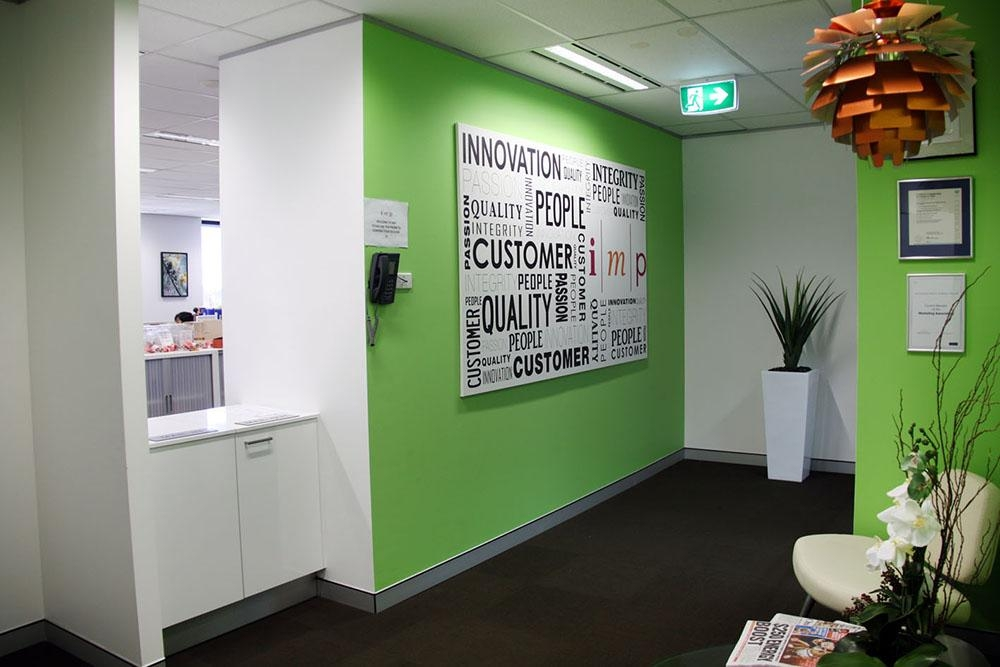 Publishing Company Custom Wall Art Project · Cool Art Design Within Corporate Wall Art (View 15 of 20)
