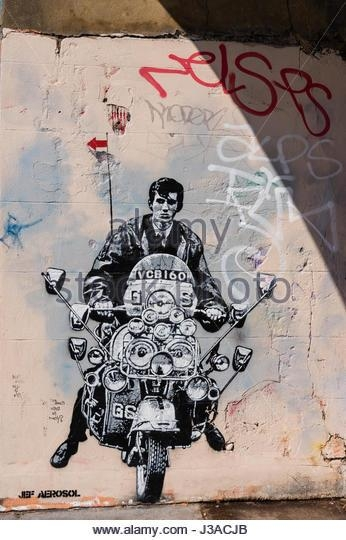 Quadrophenia Stock Photos & Quadrophenia Stock Images – Alamy Throughout Quadrophenia Wall Art (Image 10 of 20)