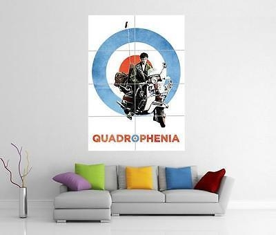 Quadrophenia The Who Lambretta Vespa Giant Wall Art Photo Print In Quadrophenia Wall Art (Image 13 of 20)