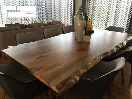 Quality Timber Furniture – Natural Edge Fine Furniture For Most Recent Perth Dining Tables (Image 18 of 20)