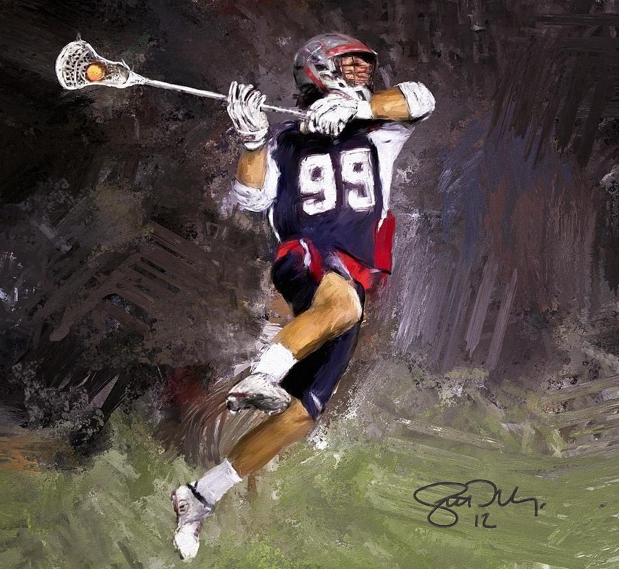 Rabil Lacrosse Paintingscott Melby Intended For Lacrosse Wall Art (View 17 of 20)