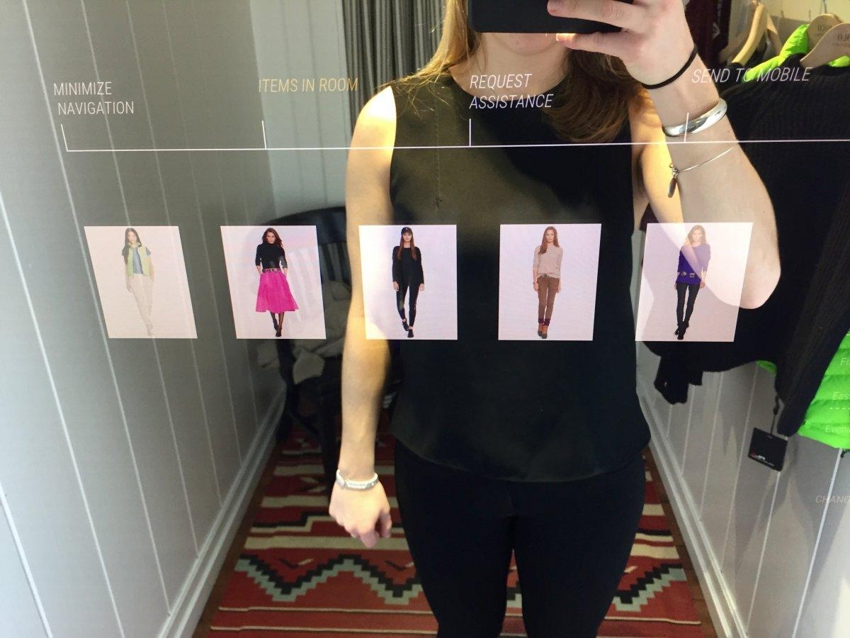Ralph Lauren Interactive Mirrors – Business Insider Throughout Mirrors For Dressing Rooms (View 13 of 20)