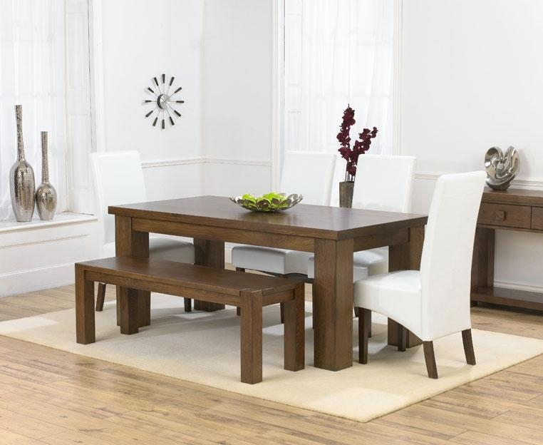 Recent 180Cm Dining Table And 4 Marcello Brown Dining Chairs And Pertaining To Most Recently Released 180Cm Dining Tables (Image 14 of 20)